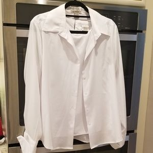 White tank and shirt set XL, great condition.